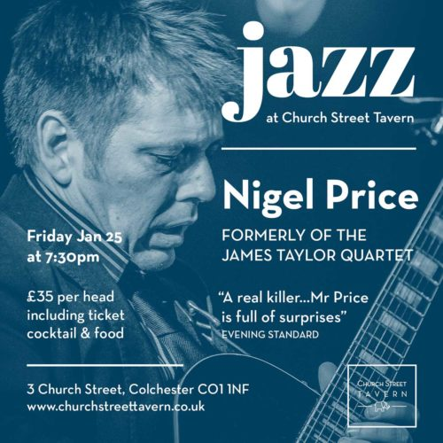 FRIDAY NIGHT JAZZ – 25 JANUARY 2019
