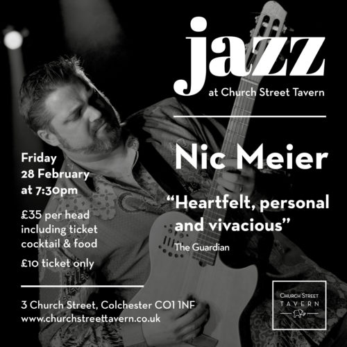 FRIDAY NIGHT JAZZ – 28 FEBRUARY