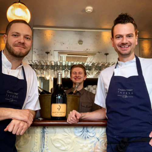 WIN A MEAL FOR FOUR & CHAMPAGNE
